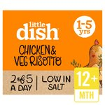 Little Dish Chicken Risotto Toddler Meal