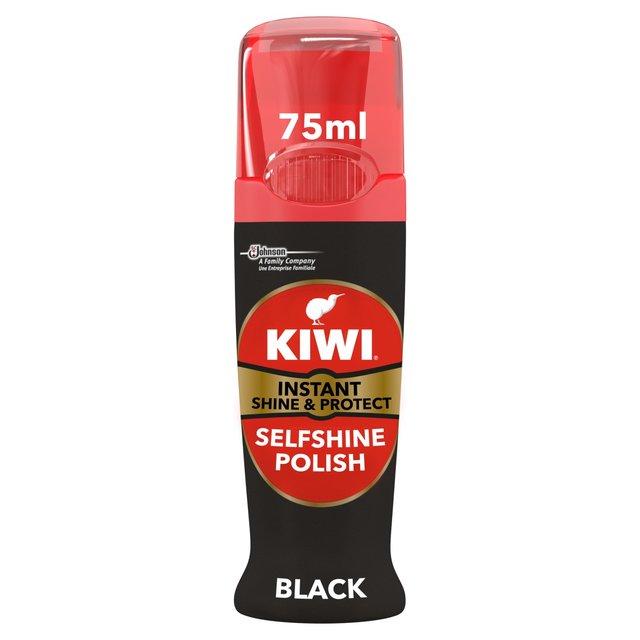Kiwi Shoe Instant Shine \u0026 Protect Black