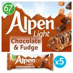 Alpen Light Bars Choc & Fudge Bars