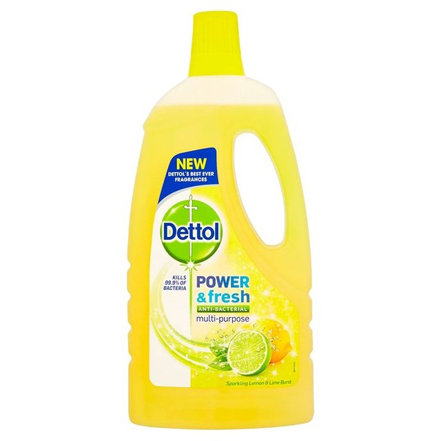 Dettol Power & Fresh Multi Purpose Cleaner Lemon