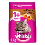 Whiskas Duck Adult 1+ Dry Cat Food