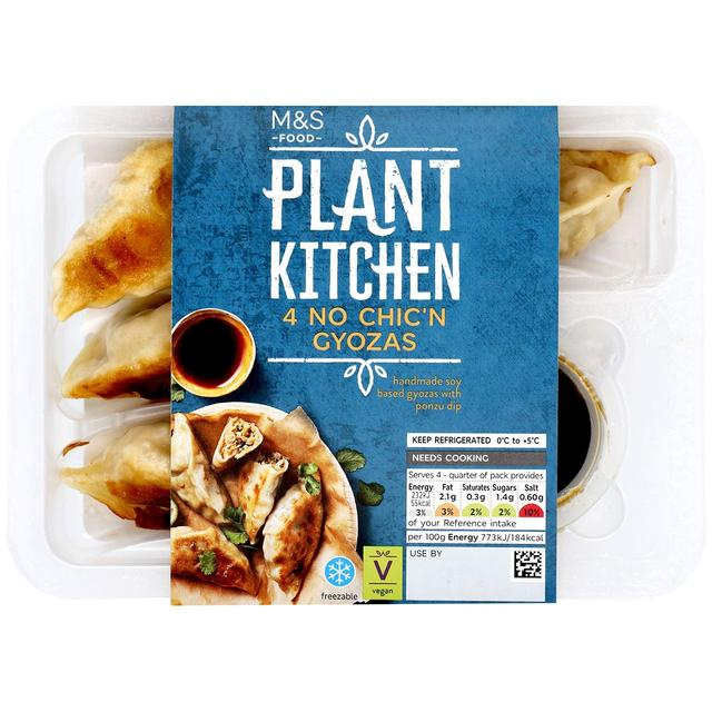 M S Plant Kitchen 4 No Chicken Gyozas Ocado