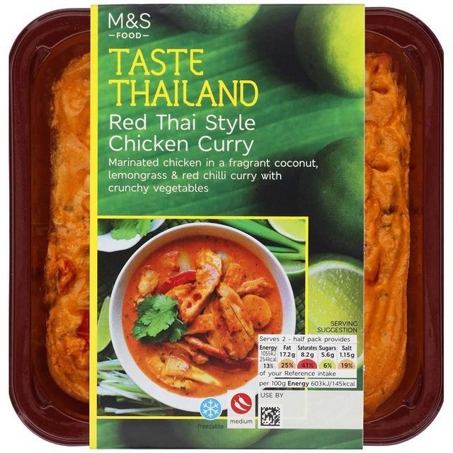 M&S Red Thai Chicken Curry | Ocado