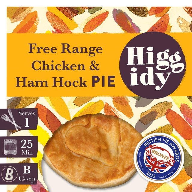 Higgidy Chicken Pot Pie With Ham & Leek