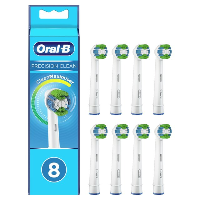 Oral B Precision Clean Toothbrush Heads | Ocado