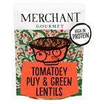 Merchant Gourmet Tomatoey French Puy & Green Lentils
