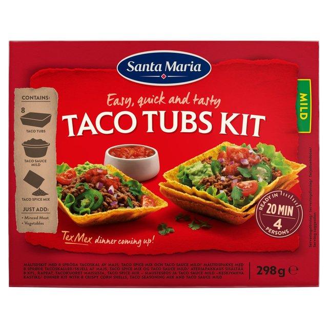 Santa Maria Taco Tubs Kit Ocado