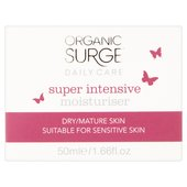 Organic Surge Super Intensive Moisturiser for Dry, Mature Skin