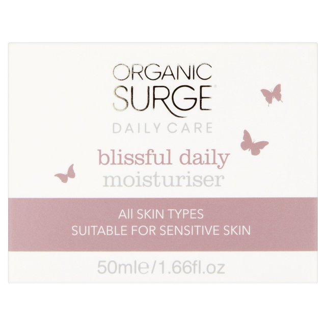 Organic Surge Blissful Daily Moisturiser for Normal or Combination Skin