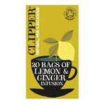 Clipper Organic Lemon & Ginger Infusion