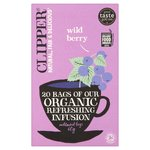 Clipper Organic Wild Berry Infusion Tea Bags