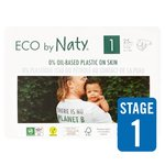 Eco by Naty Nappies Size 1
