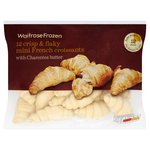 Waitrose 12 Frozen Mini Butter Croissants