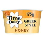 Tims Dairy Greek Style Yogurt with Honey