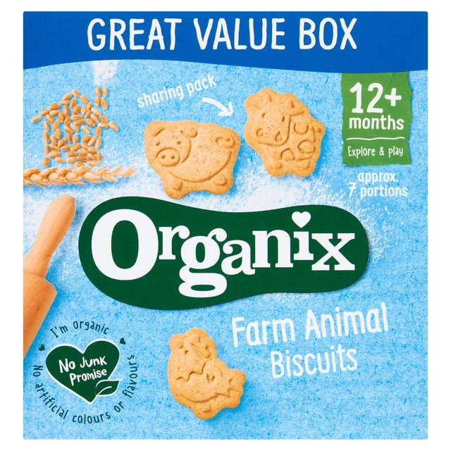 Organix Animal Biscuits