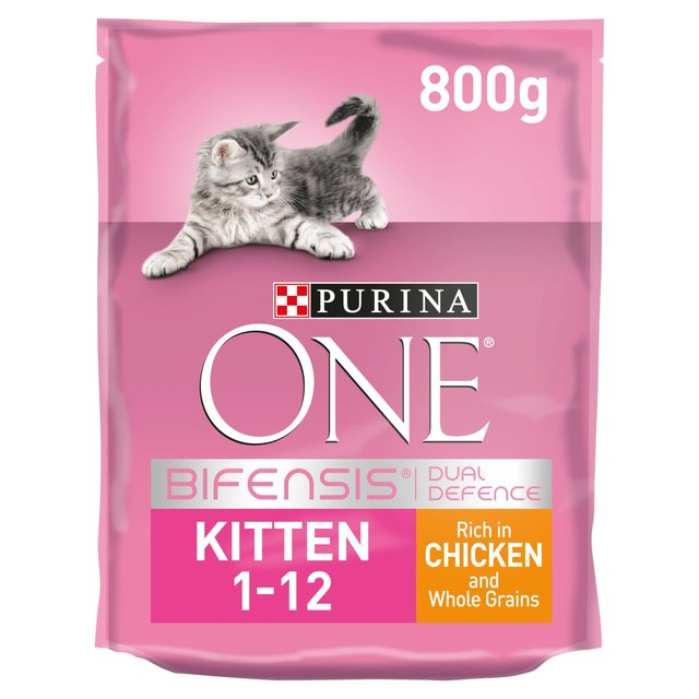 Purina One Kitten Food Chicken & Wholegrains