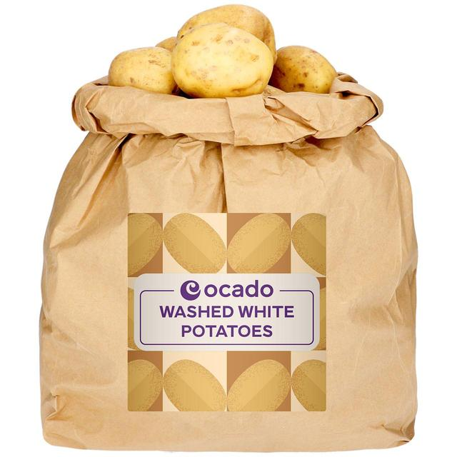 Ocado Washed White Potatoes Sack