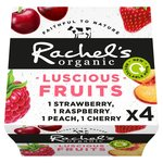 Rachel's Organic Luscious Fruits Cherry, Raspberry, Strawberry & Peach