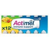 Actimel Multifruit Drinking Yogurts
