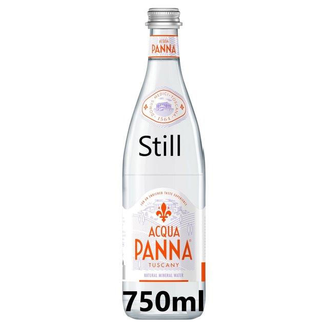 396bfee457 Acqua Panna Still Natural Mineral Water Glass 750ml from Ocado