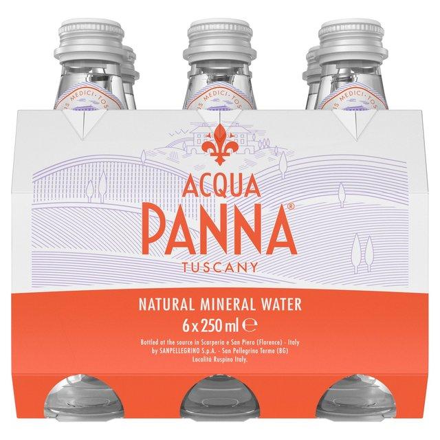 a5cd234f07f Acqua Panna Still Natural Mineral Water Glass 6 x 250ml from Ocado