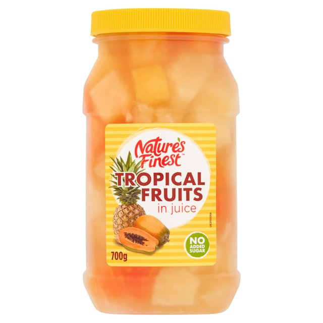 Nature's Finest Tropical Fruit Salad In Juice