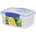 Sistema Klip It Rectangular Plastic Container 1L, Blue