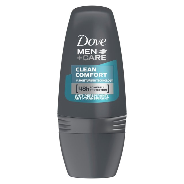 d5bec2567 Dove Men+Care Clean Comfort Roll-On Anti-Perspirant Deodorant 50ml ...