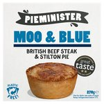 Pieminister Moo & Blue British Steak & Stilton Pie