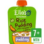 Ella's Kitchen Organic Rice Pudding with Mangoes & Apples Stage 2