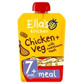 Ella's Kitchen Organic Chicken & Sweetcorn Mash Stage 2