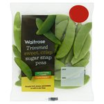 Waitrose Ready Trimmed Sugar Snap Peas