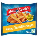 Aunt Bessie's Honey Glazed Roast Parsnips