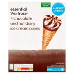 Essential Waitrose Chocolate & Nut Cone