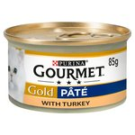 Gourmet Gold Cat Food Pate with Turkey