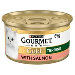 Gourmet Gold Cat Food Salmon Terrine