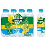Volvic Touch of Fruit Sugar Free Lemon & Lime