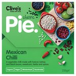 Clive's Organic Wholewheat Mexican Chilli Pie
