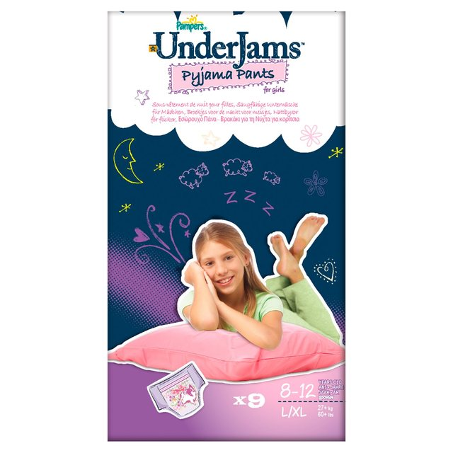 Pampers Underjams Girl 8-12 Years
