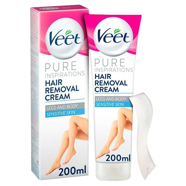 Veet Cream Hair Removal Sensitive Skin Ocado