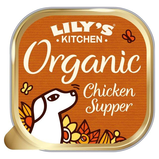 Lily\'s Kitchen Proper Dog Food Organic Chicken & Spelt Supper 150g ...