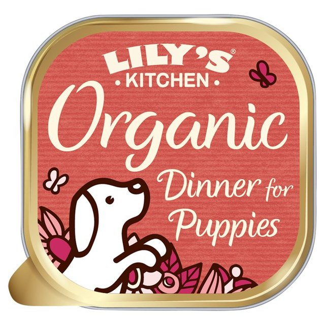 Lily\'s Kitchen Proper Dog Food Organic Dinner for Puppies 150g ...