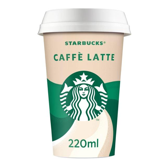 Starbucks Discoveries Seattle Caffe Latte 220ml From Ocado