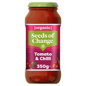 Seeds Of Change Tomato & Chilli Organic Pasta Sauce