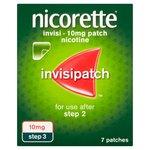 Nicorette Invisipatch, Step 3, 10mg