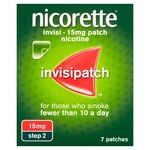 Nicorette Invisipatch, Step 2, 15mg