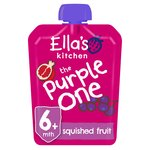 Ella's Kitchen Organic Smoothie Fruits The Purple One Single