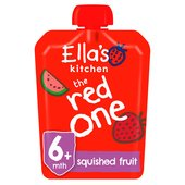 Ella's Kitchen Organic Smoothie Fruits The Red One Single
