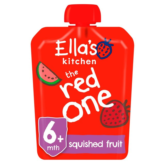 ellas kitchen organic smoothie fruits the red one single - Ellas Kitchen