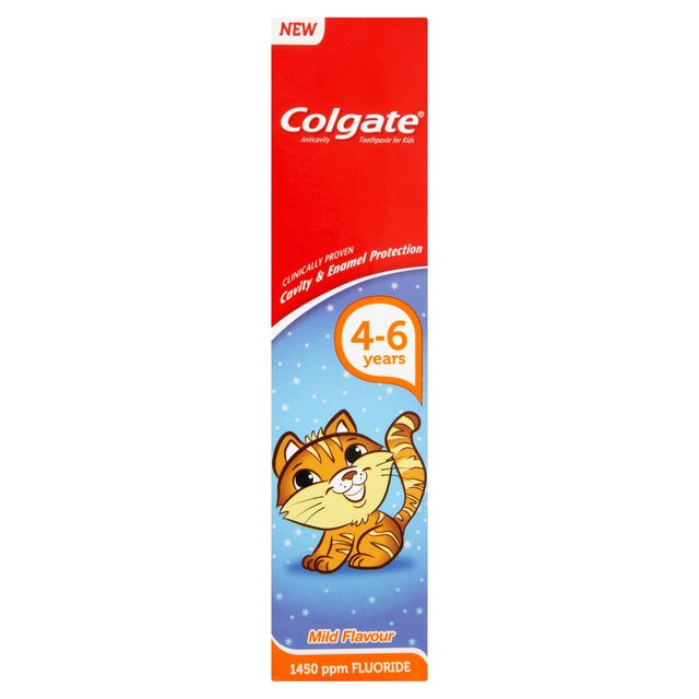 Colgate Toothpaste Smiles 4-6 Years